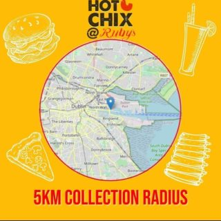 Happy Easter to everyone 🐰 Reminder, we are doing collection from Point Square from 4pm today! Check out our 5km to see if you are able to collect 😍 #hotchix #buttermilkchicken #tenders #burgers #milkshakes #YourBreastFriend