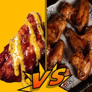 Tenders or wings? Both available in Ruby's Point Square #YourBreastFriend